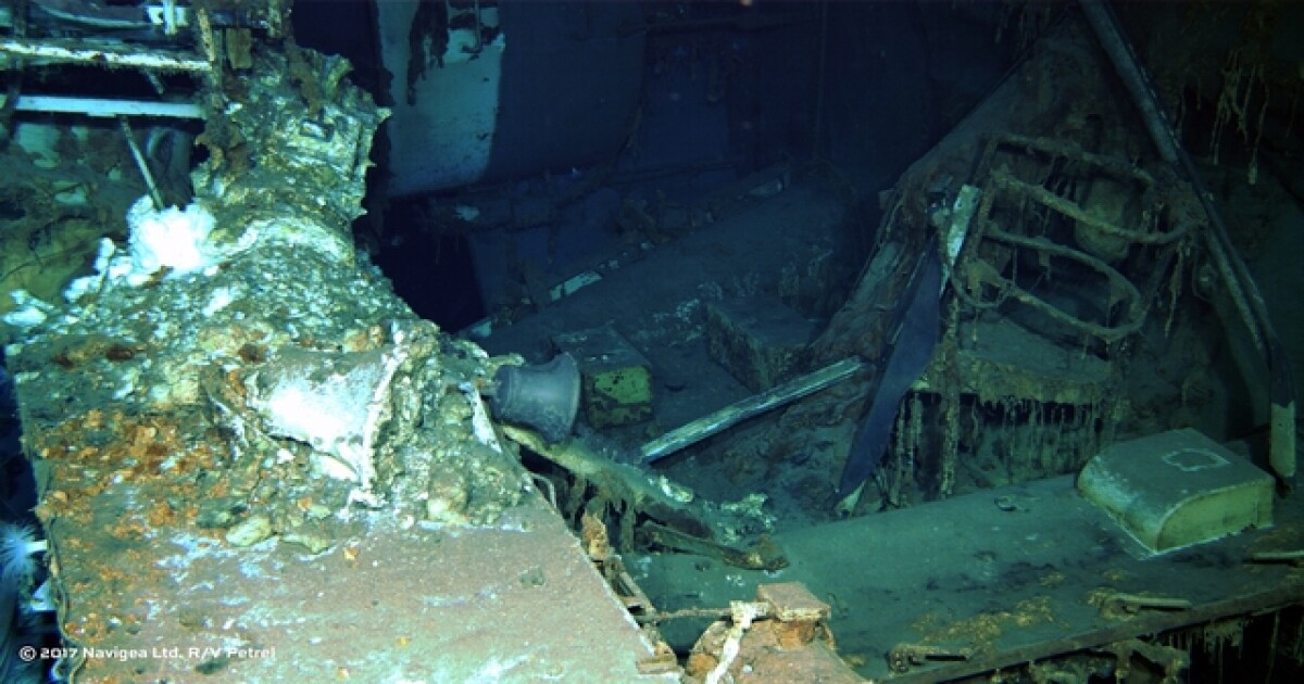 Wreckage of WWII ship sunk after 'secret mission' found in