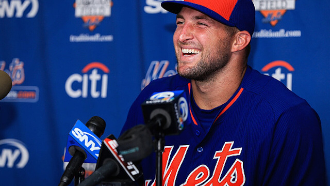 Tim Tebow sent to minor league camp by Mets after striking out 11 times in 18 at bats