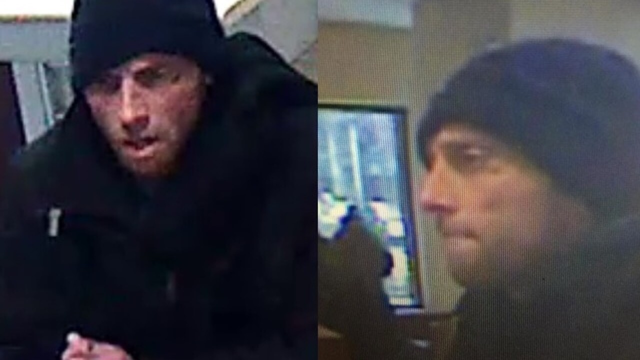 PD: Tattooed man arrested for Key Bank robbery