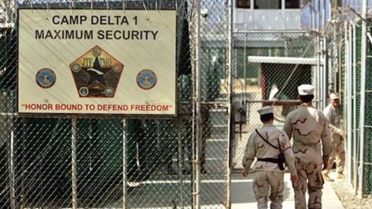 Guantanamo inmate counts drops to below 100