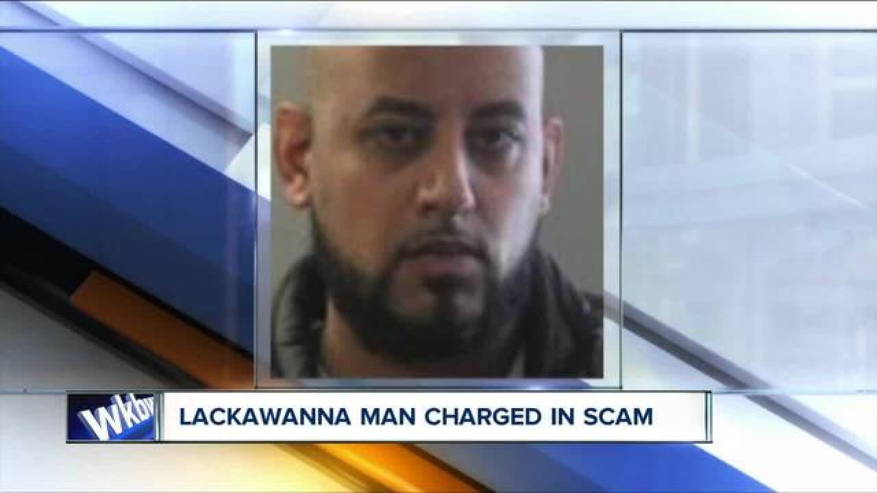 Lackawanna man facing cell phone, credit scam charges
