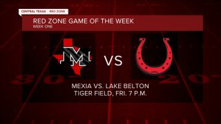 Red Zone game of the week 8-27