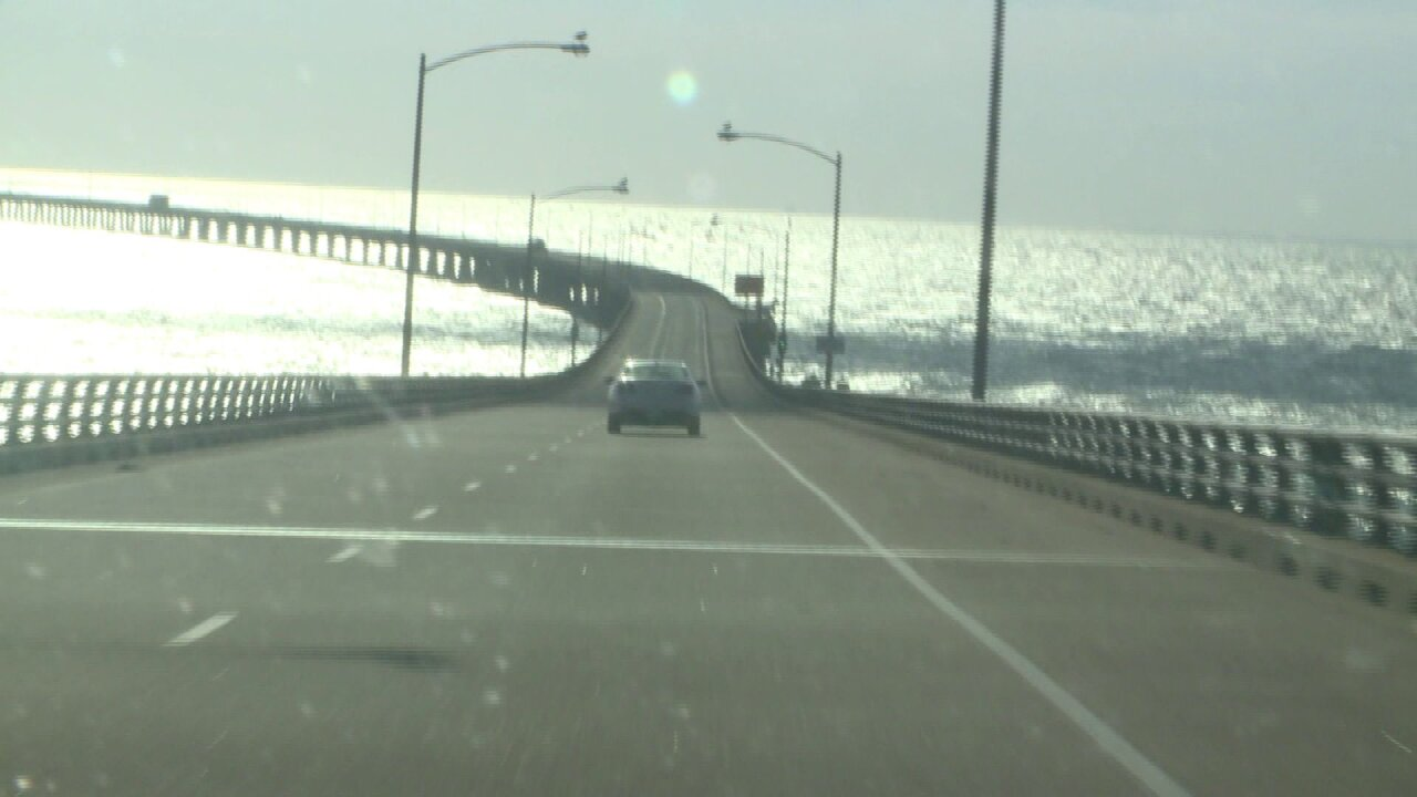 Quick-thinking woman uses Chesapeake Bay Bridge Tunnel wind restrictions to escape abduction