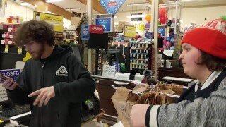 "Grocery store workers in Glasgow share some ""corona rap"" (video)"