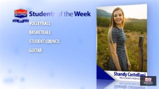 Students of the Week: Shandy Castellani and Shane Vomund of Red Lodge High School