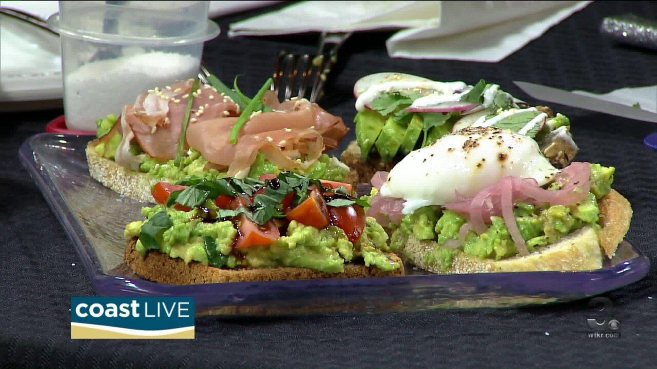 Chef Jacqui and the many faces of avocado toast on CoastLive