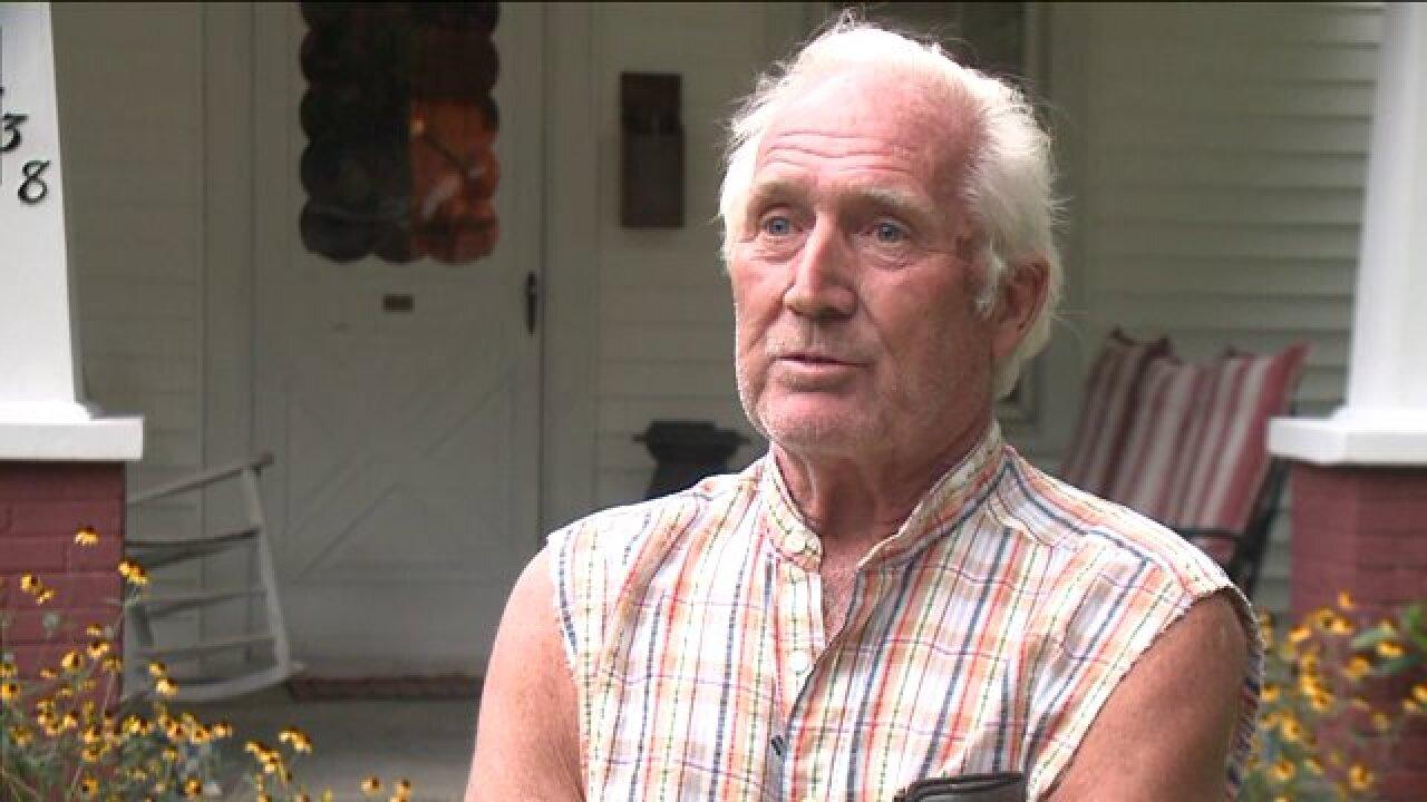 Norfolk man awakens to find masked burglar holding up wife atgunpoint