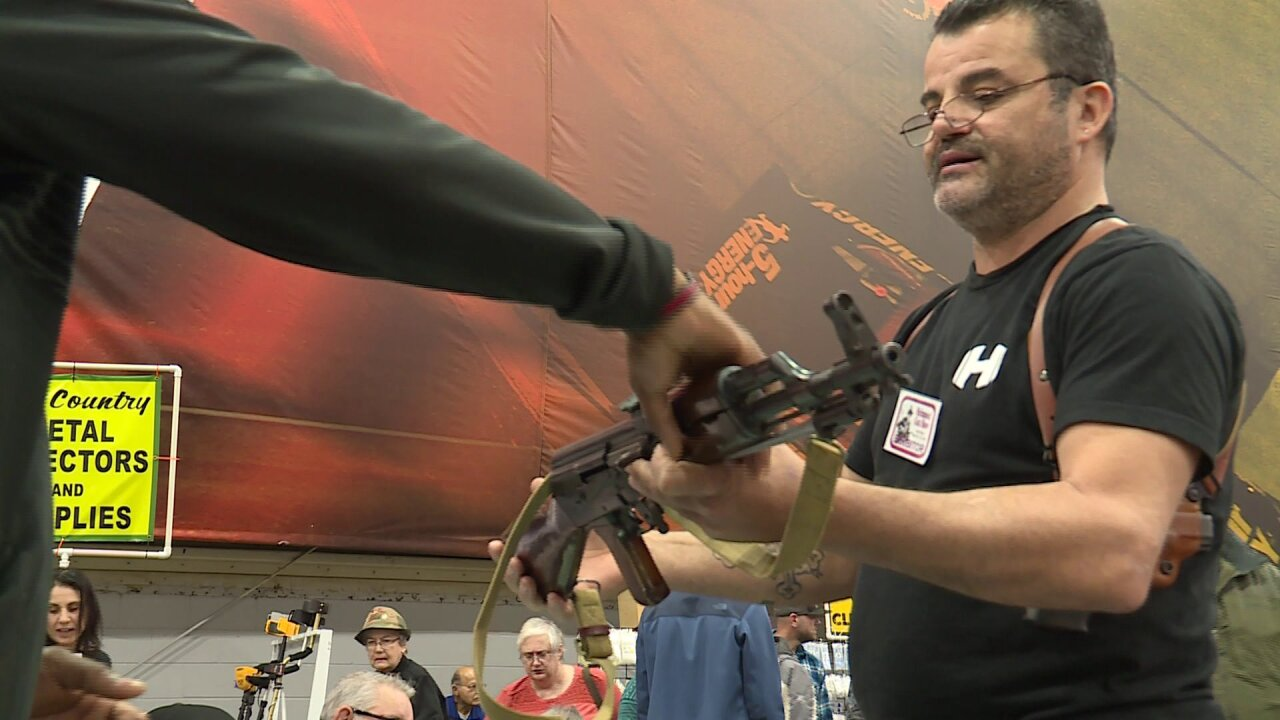Gun show attendees worry stricter gun laws in Virginia could mean crime uptick
