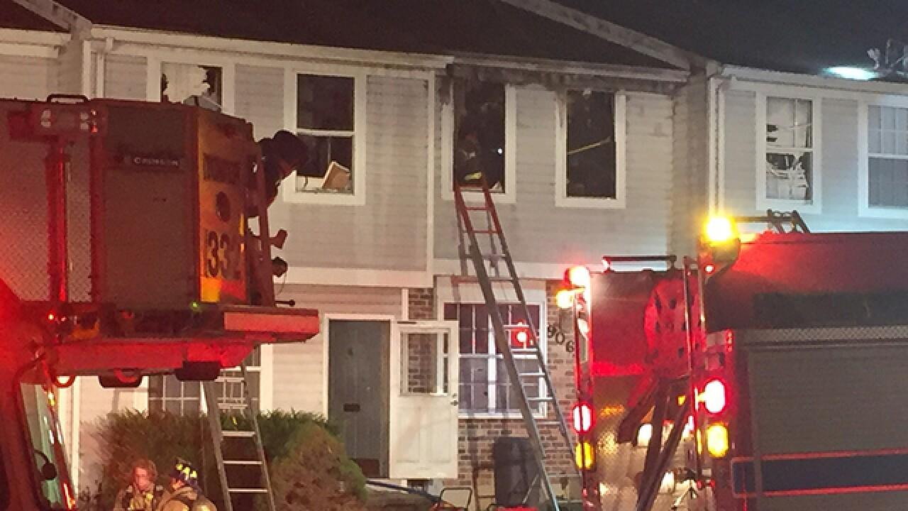 Crews battle two alarm multi home blaze