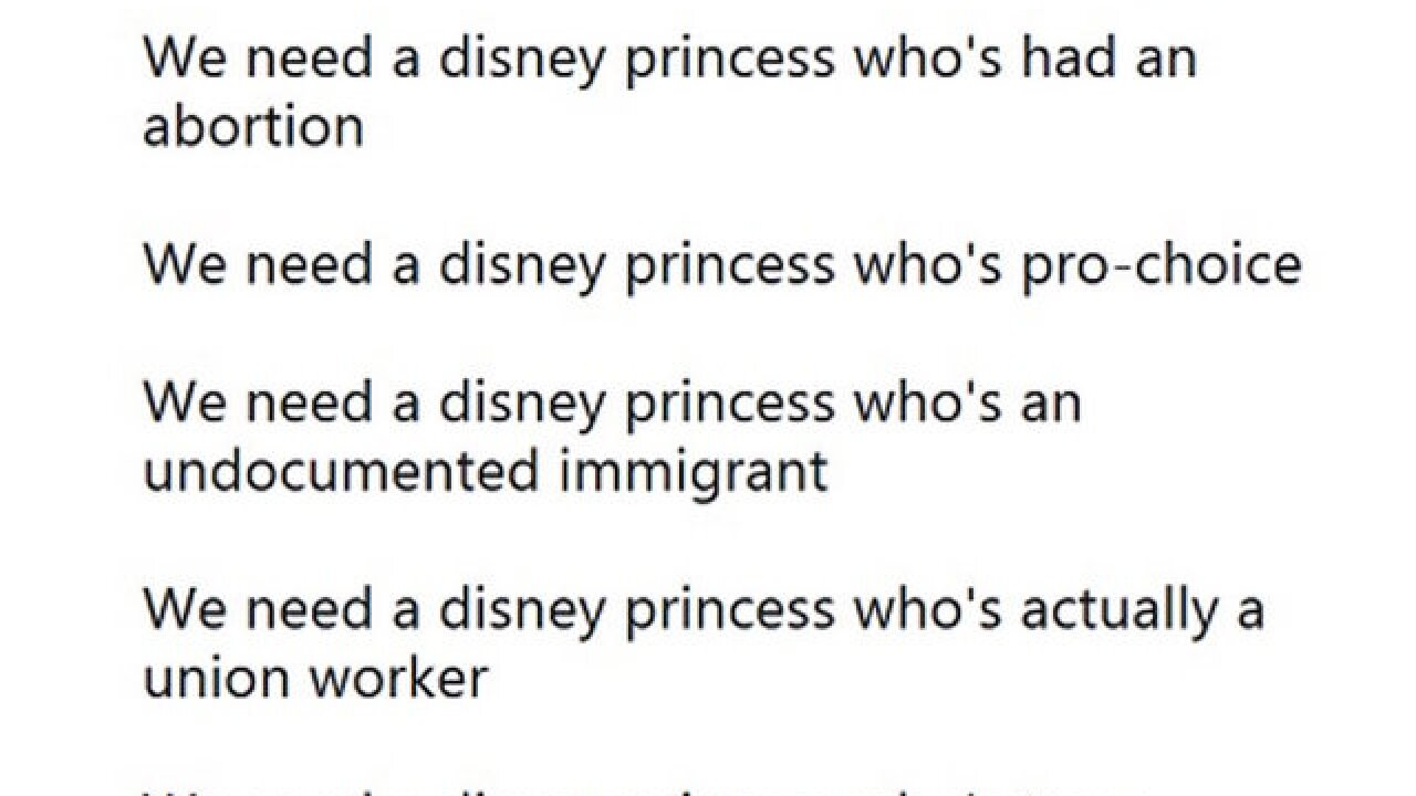 Planned Parenthood deletes tweet calling for Disney princess 'who's had an abortion'