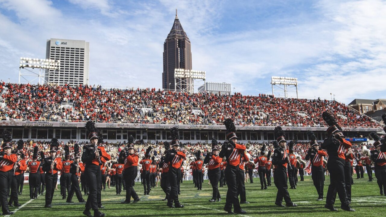 University of Georgia's band to no longer play 'Tara's Theme' from 'Gone with the Wind' after games