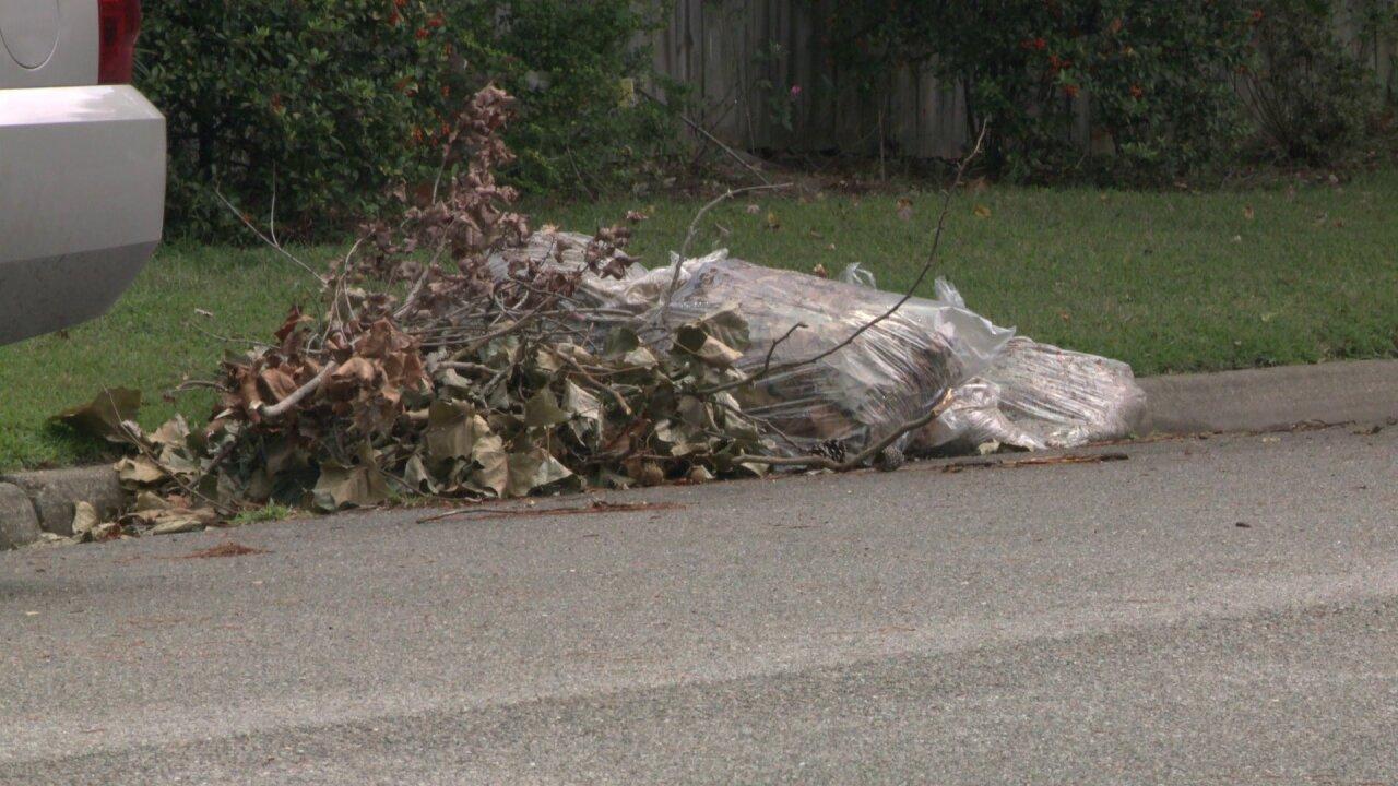 Massive yard debris efforts continues in Virginia Beach afterHermine