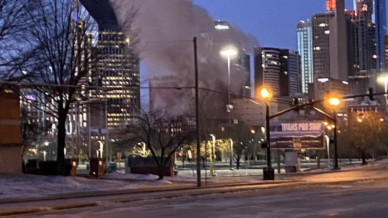 downtown explosion