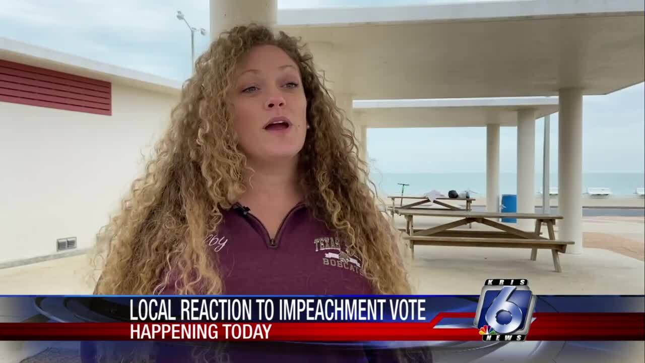 Jenna Bryce describes her opinion on impeachment
