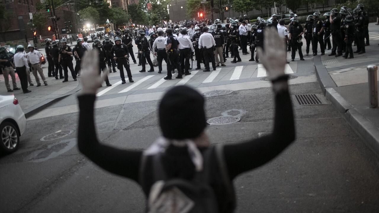 America Protests New York