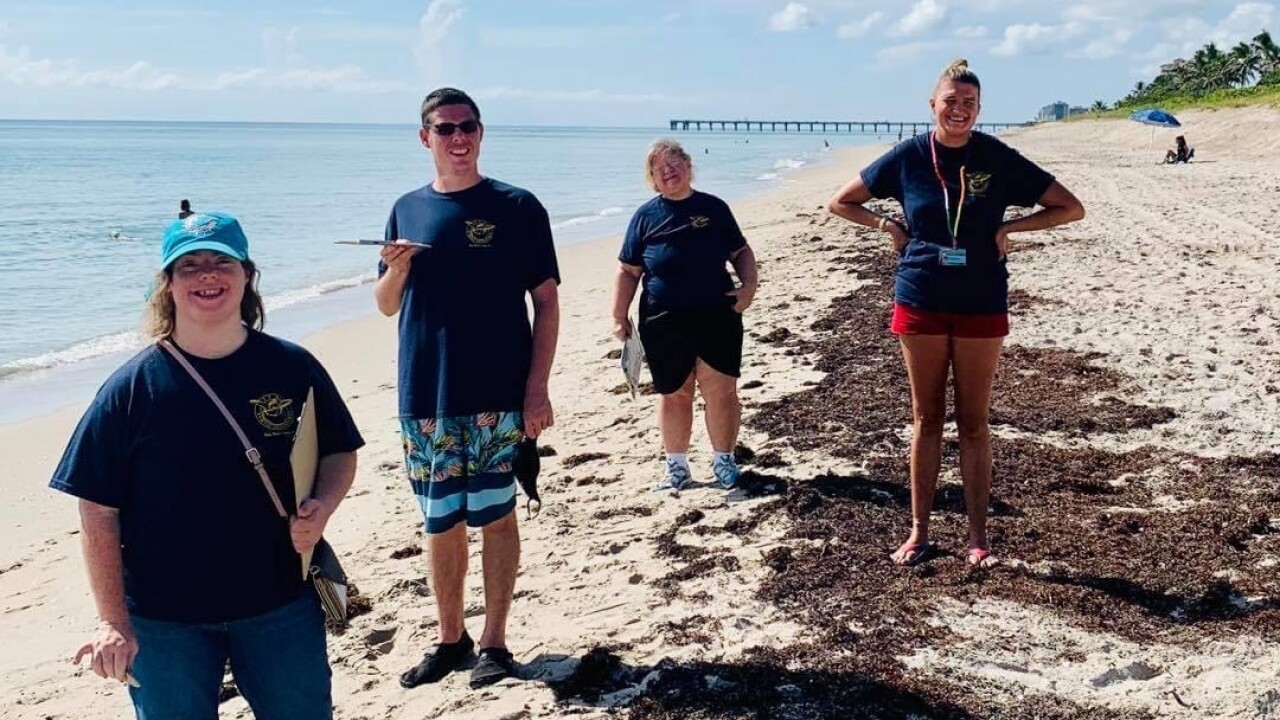 For more than 20 years, Jackie Kingston has made it her mission to conserve our local sea turtle population and educate the public. She recently combined that passion with her love for working special needs adults.