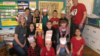 dr seuss day at carlile elementary