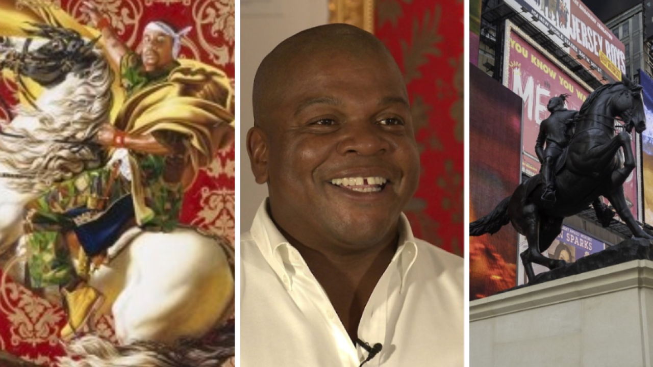 Kehinde Wiley: 'I hope they see the very familiar… but I also hope they feel destabilized'