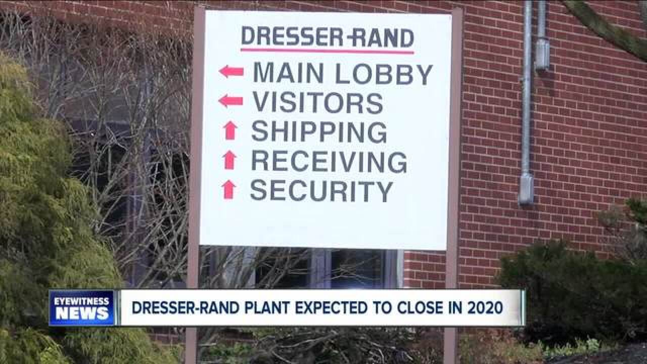 Dresser-Rand expected to close in Wellsville