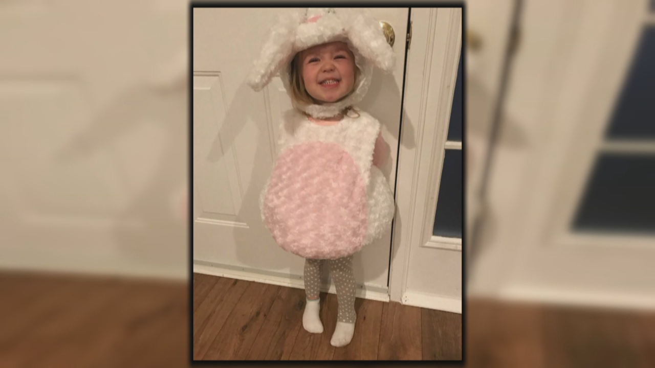 Neighbors step up to help little girl with kidney condition celebrate belated Halloween