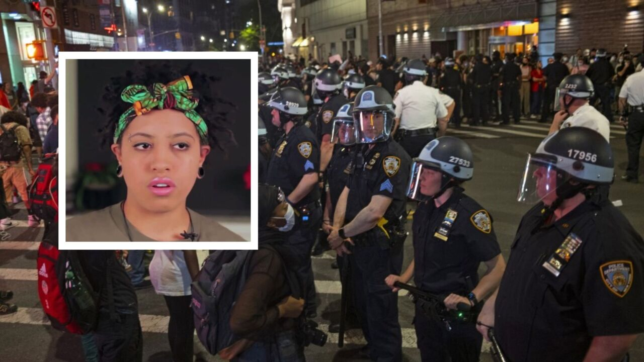 Daughter of New York Mayor Bill de Blasio arrested amid weekend protests