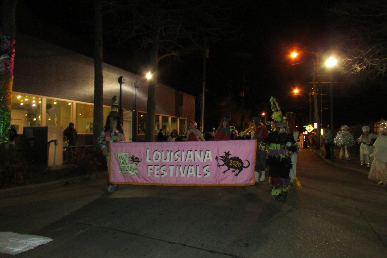 This year's theme was Louisiana Festivals!