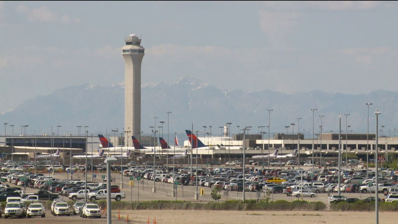 SLC Airport sees delays, diversions, cancellations in low-visibility day