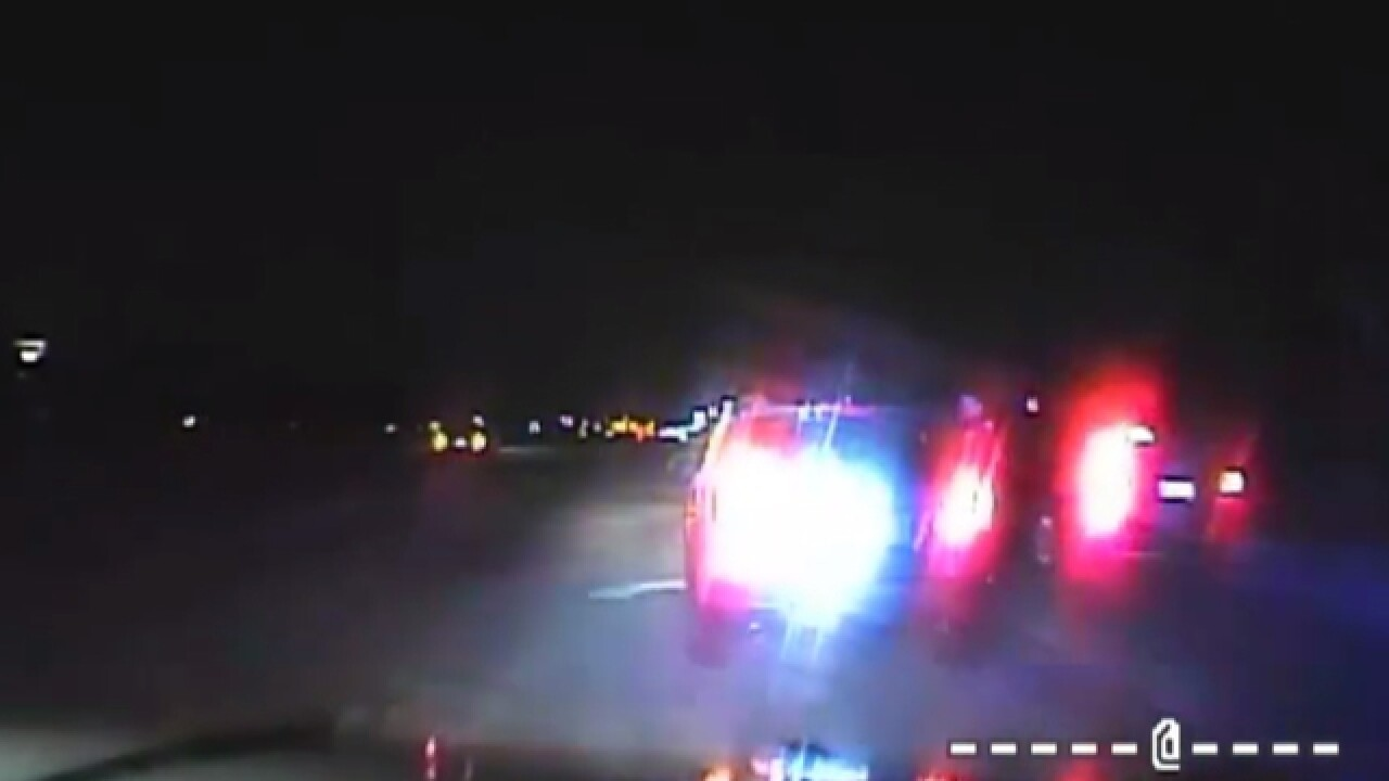 VIDEO: Distracted driver almost hits Shelby Township police officer during traffic stop