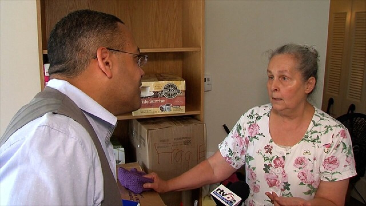 Woman loses apartment over income restrictions