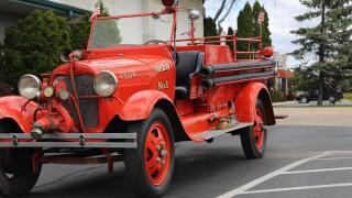 vintage firetruck west bend