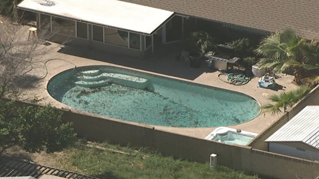 Child in hospital after drowning in Glendale