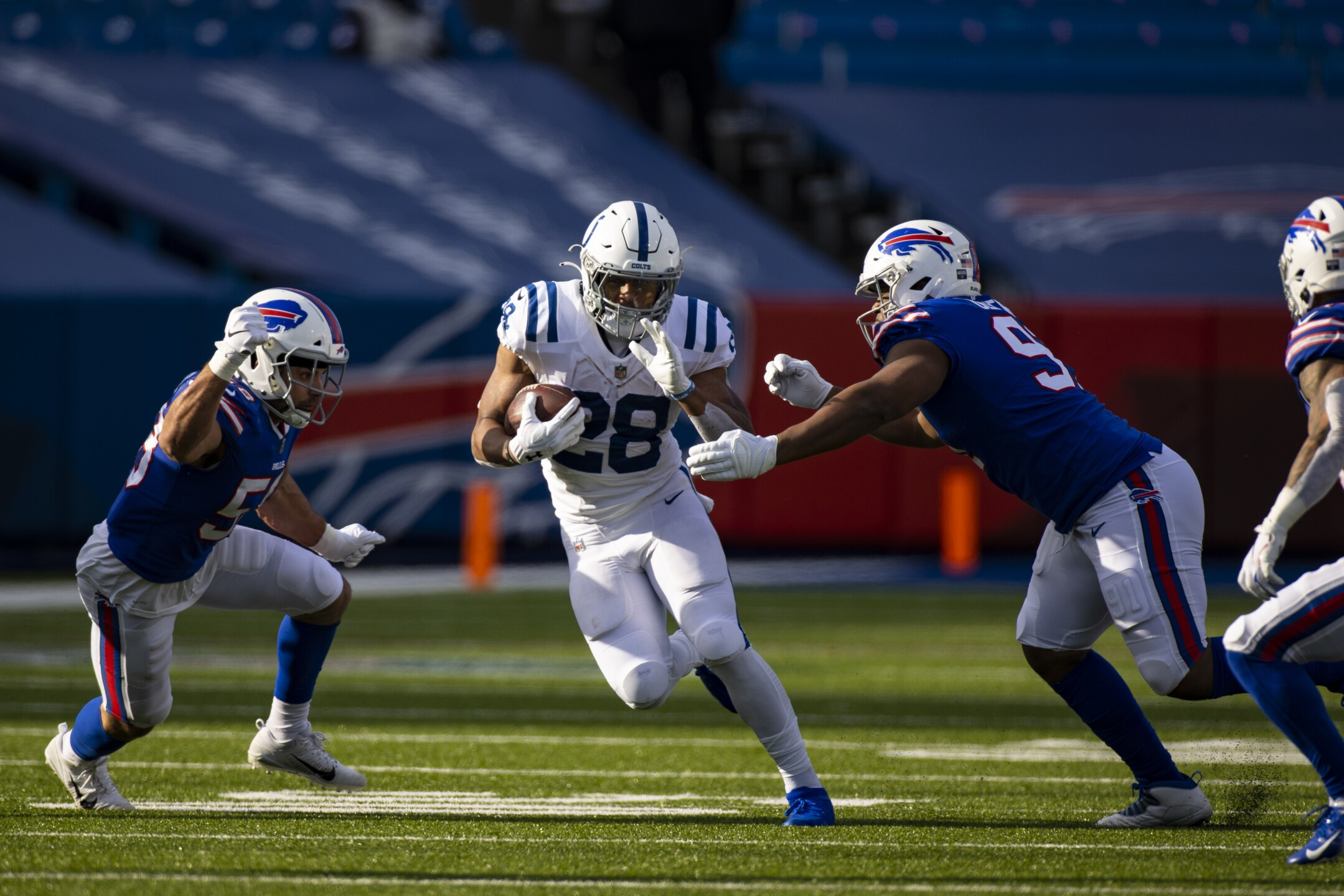 Colts Bills Football