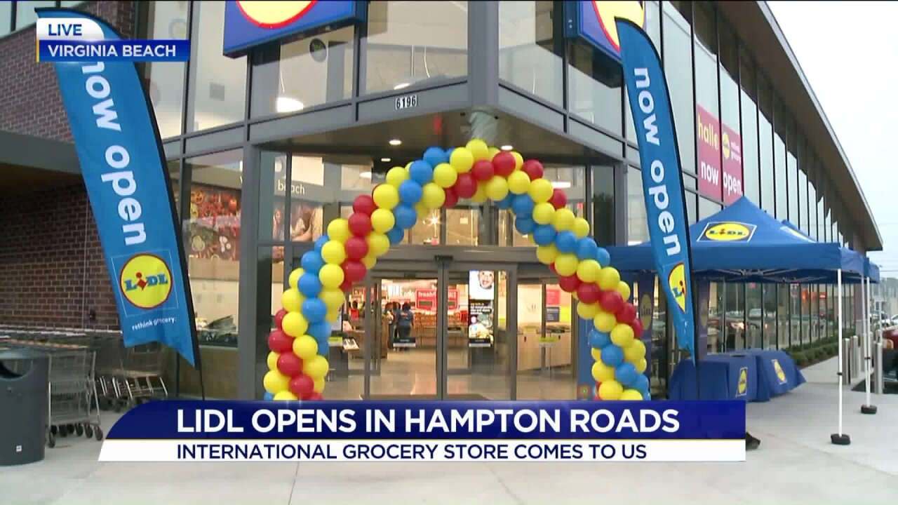 International grocery store Lidl opens in HamptonRoads