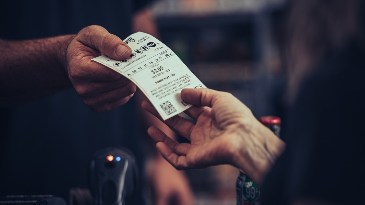 A Powerball ticket worth $50,000 was sold at a Tucson convenience store. Photo via Arizona Lottery.