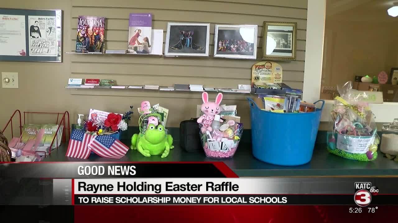 Rayne Chamber Easter Basket raffle