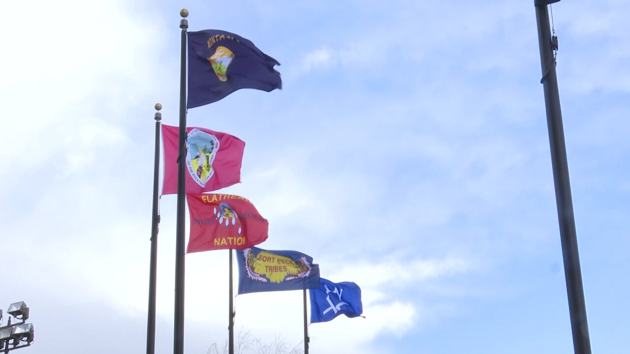 MT Tribal Nations meet for a permanent flag raising