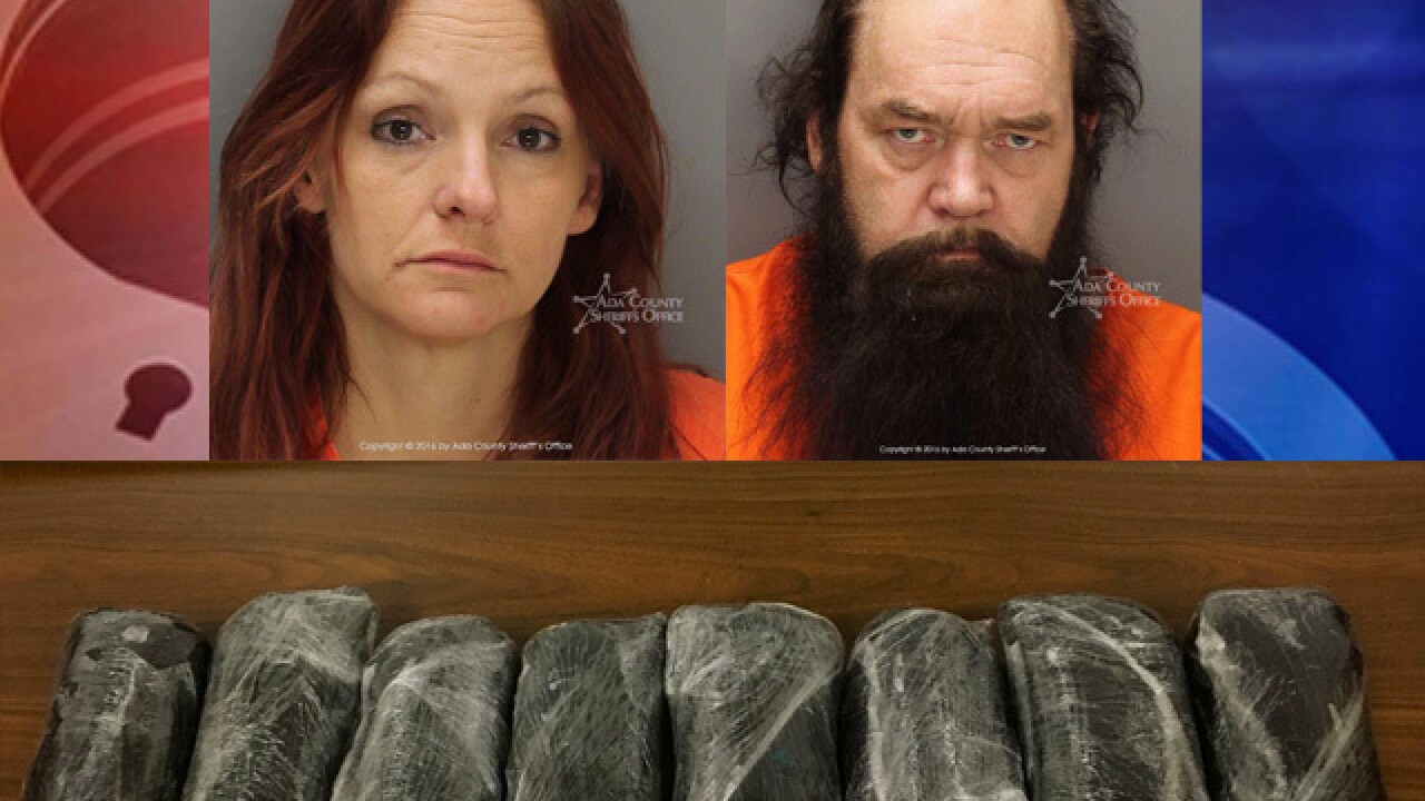 Deputies find 10 pounds of meth during stop