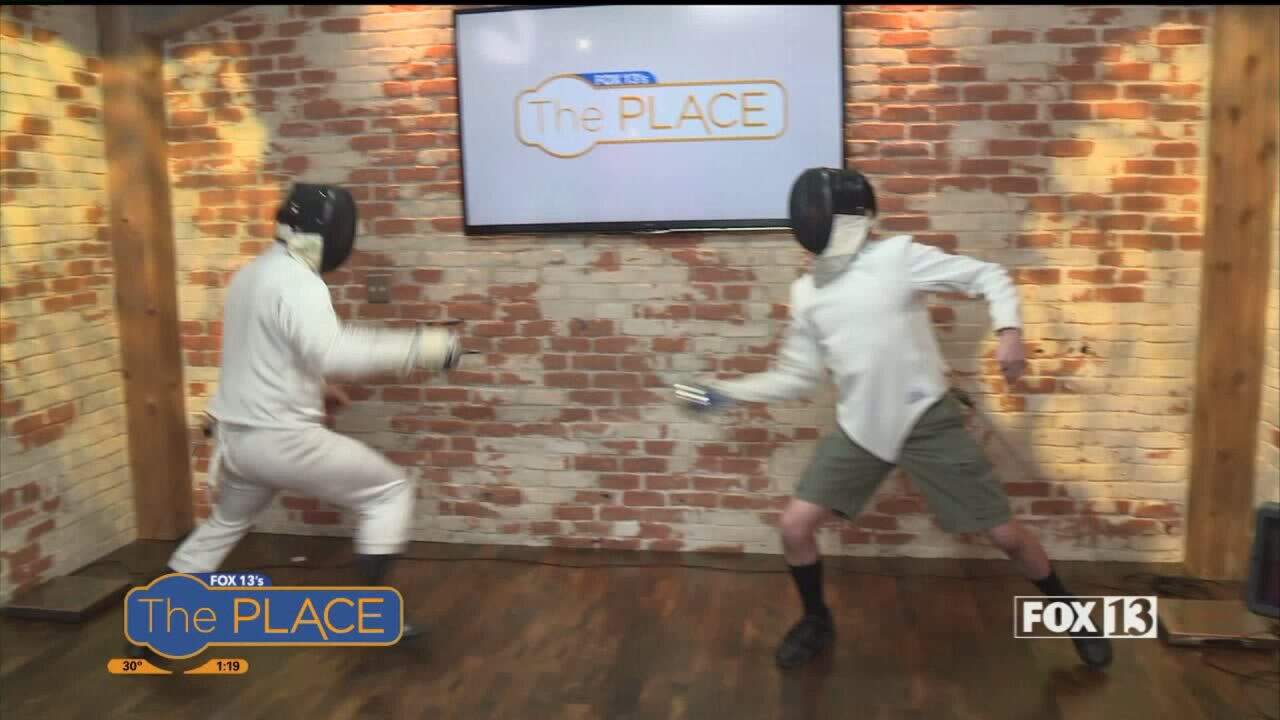 Have fun while getting a great workout with fencing