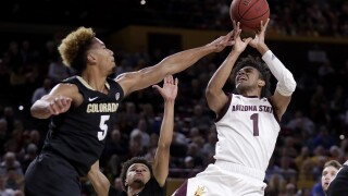 No. 20 Colorado overcomes slow start, beats Arizona St 68-61