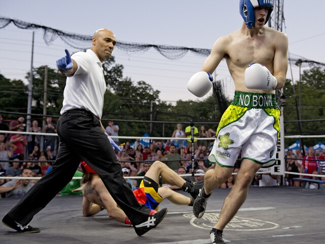 Fifty West hosts Punch Out: Round Three