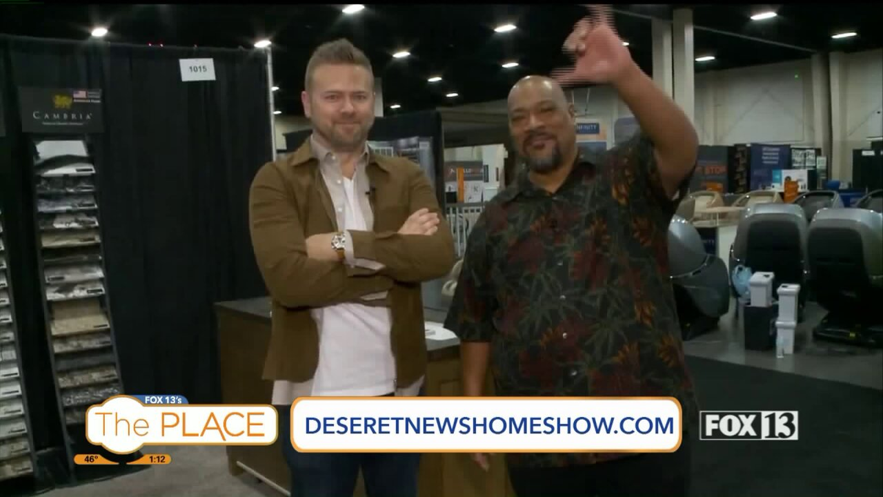 Budah talks with Matt Muenster from the DIY Network's Bath Crashers