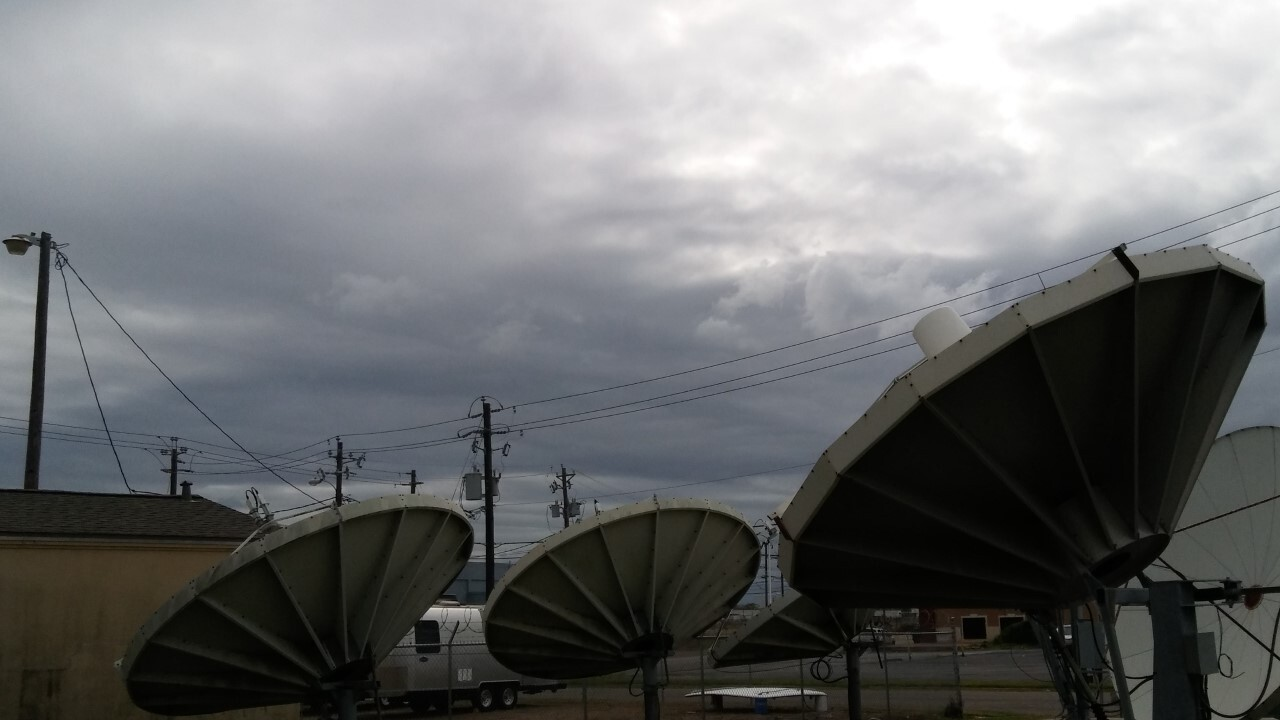 Cloudy,, Windy and Warm this Afternoon