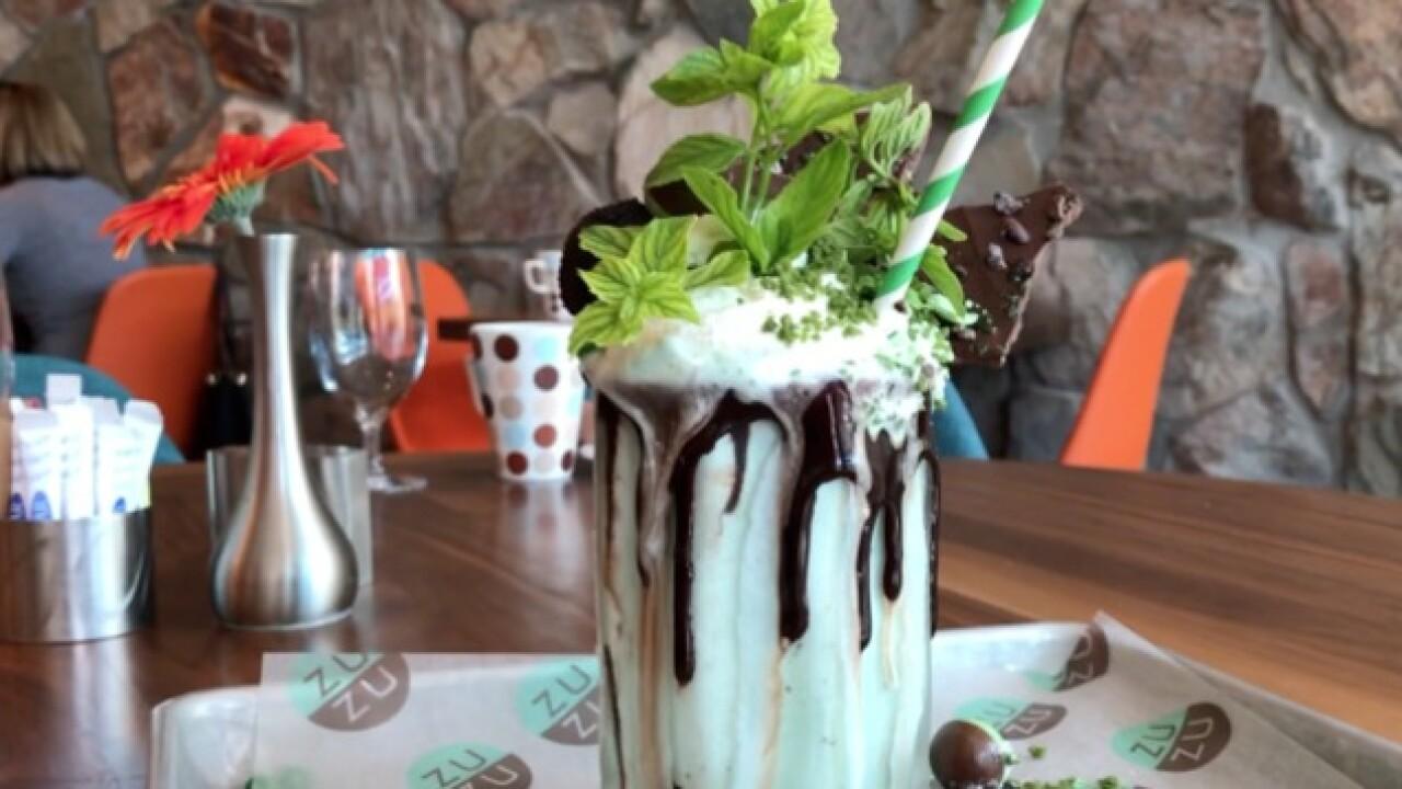 Extreme Milkshake! Mint Chocolate Showstopper