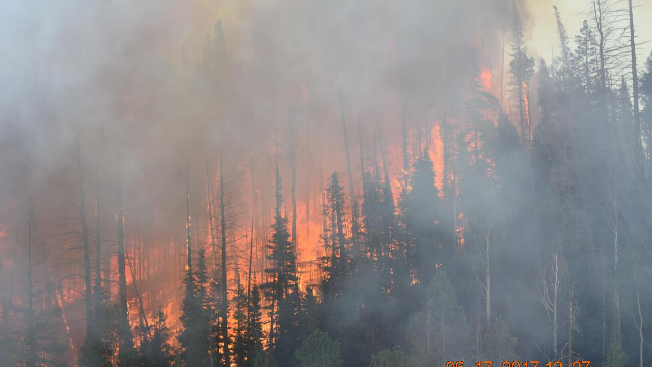 Brian Head Fire spreads across 60-thousand acres; now 60% contained