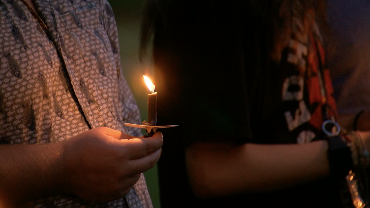 Light of Hope candle photo