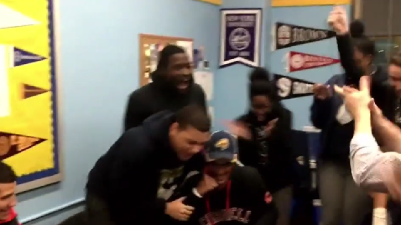 Video of Democracy Prep student's college acceptance goes viral