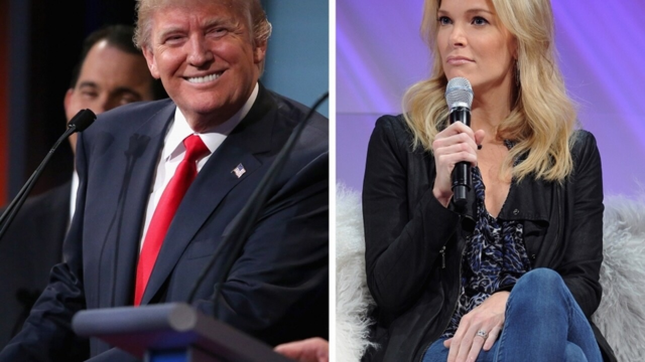 Megyn Kelly getting back onstage with Trump