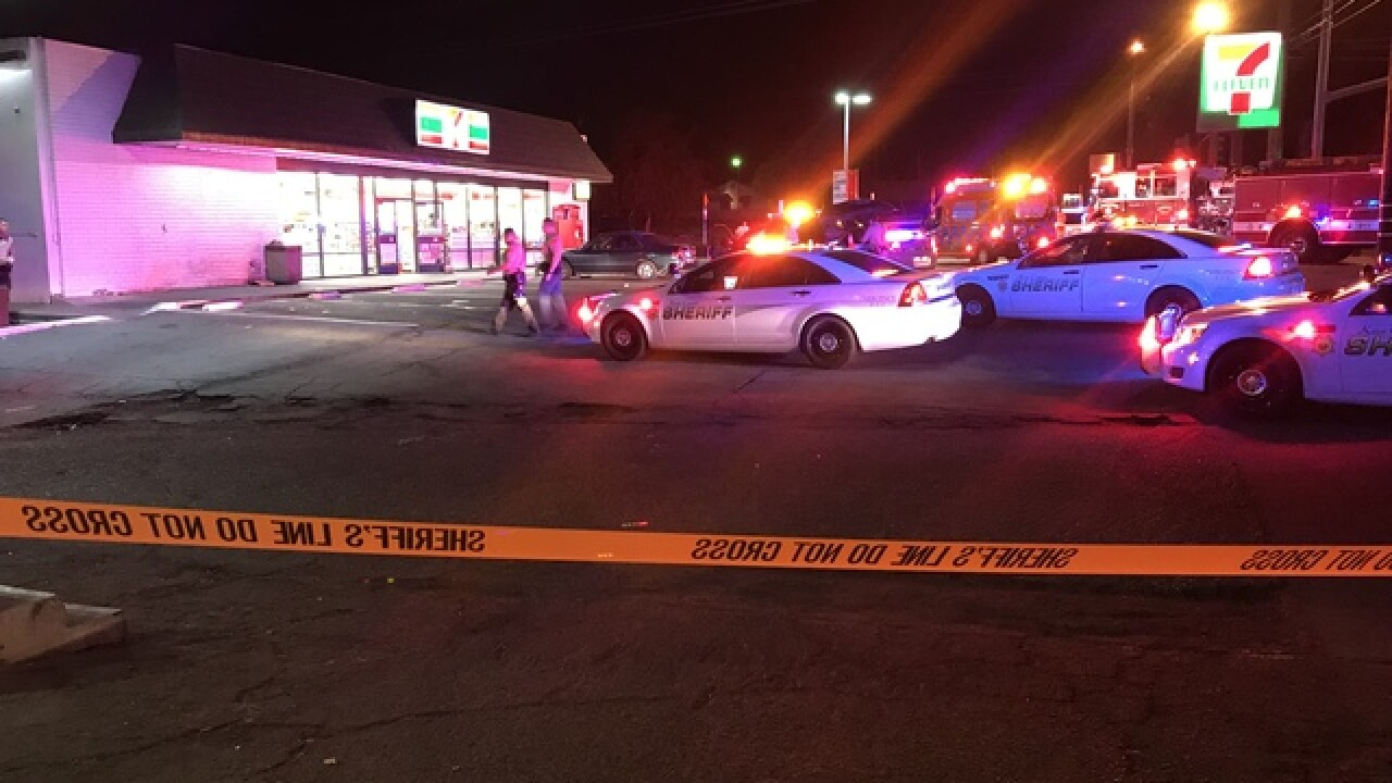 Shooting at 7-Eleven in east Bakersfield