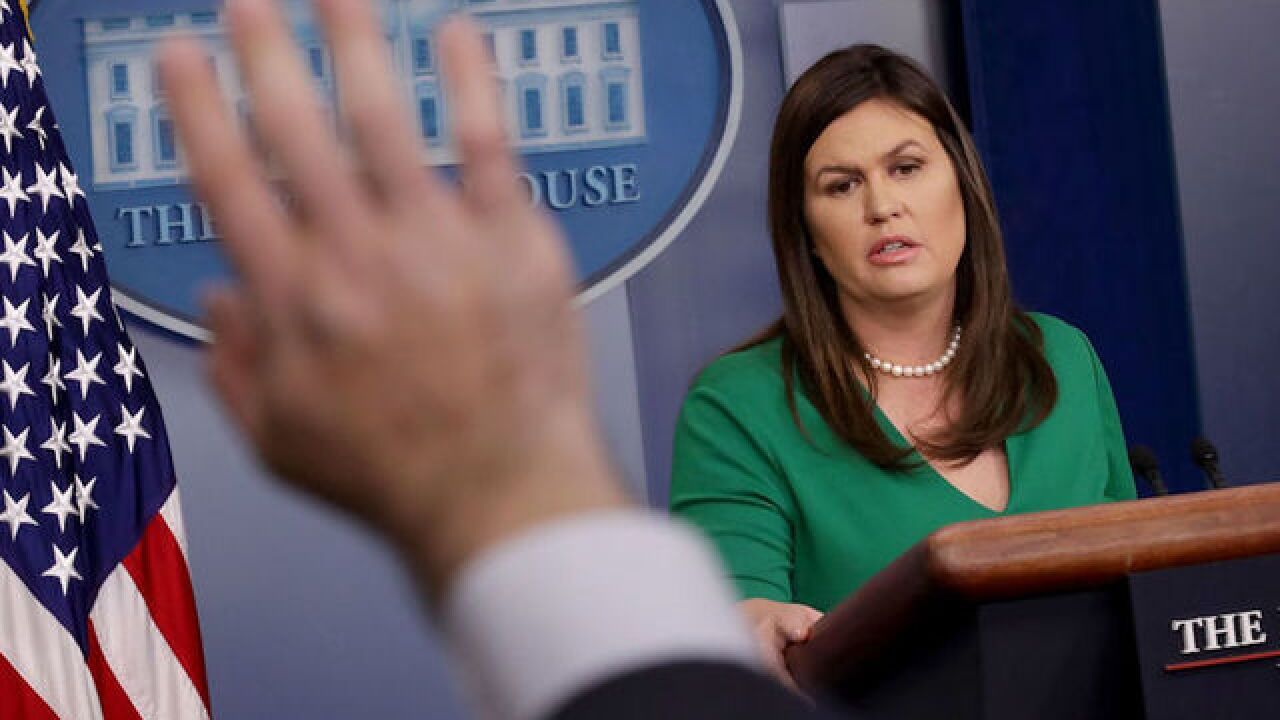 Sarah Sanders on Michael Cohen case: Trump 'did nothing wrong'