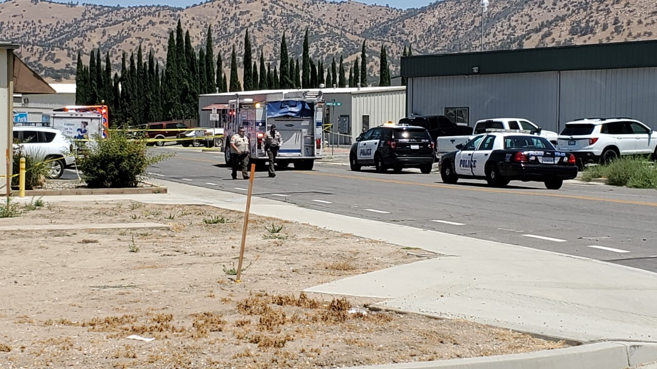 Police responding to plane crash in Tehachapi